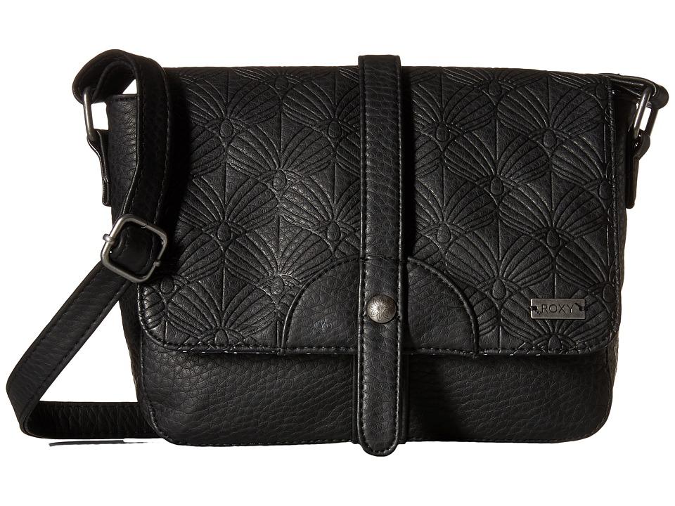 Roxy - Evening Sun Crossbody Hangbag (True Black) Cross Body Handbags