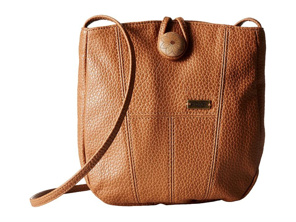 Roxy - Ride The Sky Crossbody Hangbag (Dark Brown) Cross Body Handbags