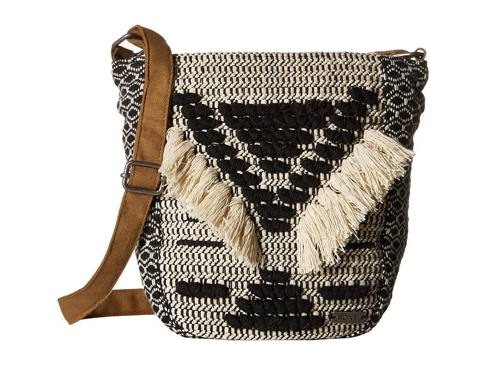 Roxy - Pearl Cays Crossbody Hangbag (True Black) Cross Body Handbags