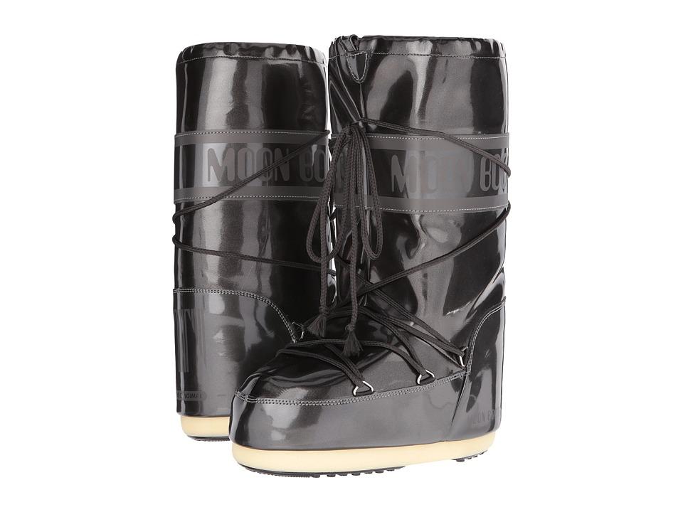 Tecnica Moon Boot Vinyl Met (Black) Boots