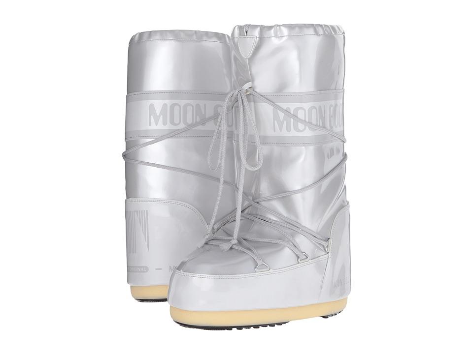 Tecnica Moon Boot Vinyl Met (White) Boots