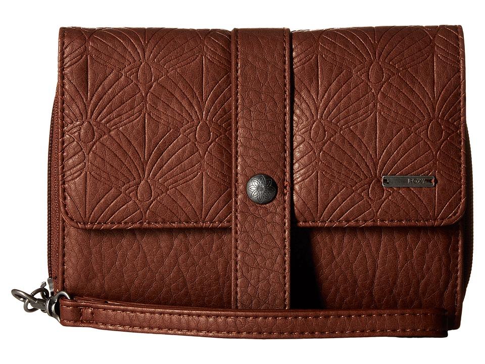 Roxy - Call Me Back Wallet (Dark Brown) Wallet Handbags