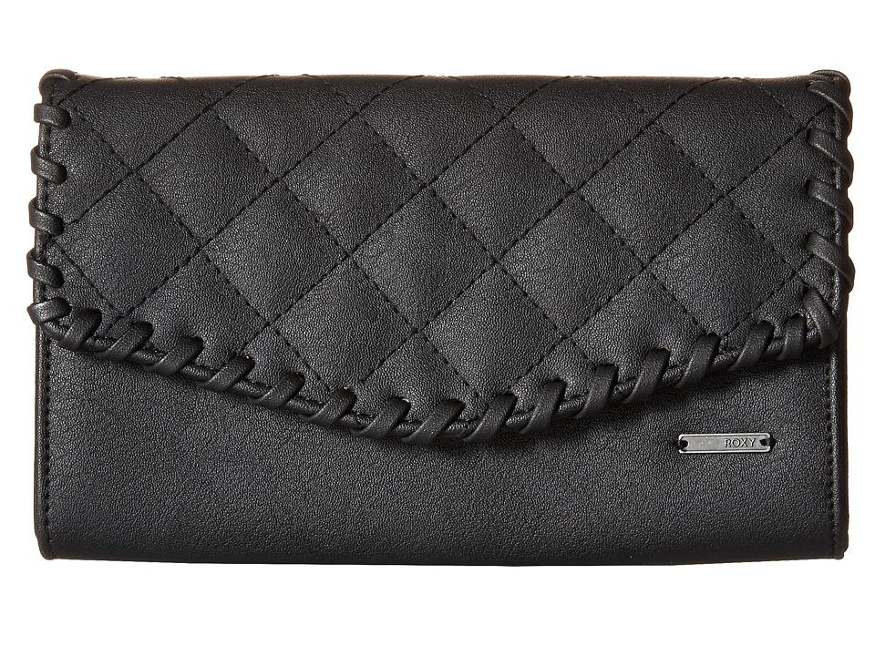 Roxy - Birdcage Wallet (True Black) Wallet Handbags
