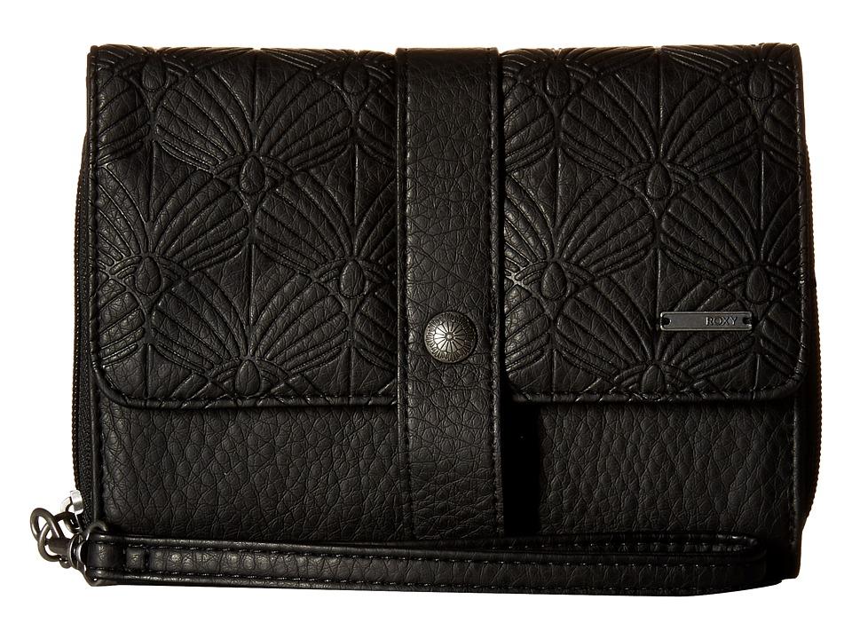 Roxy - Call Me Back Wallet (True Black) Wallet Handbags
