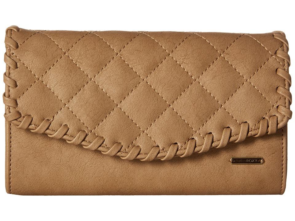 Roxy - Birdcage Wallet (Bone Brown) Wallet Handbags