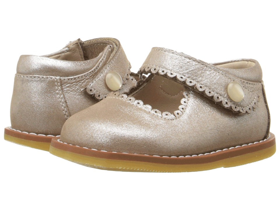 Elephantito Mary Jane Toddler Suede Blush Girls Shoes