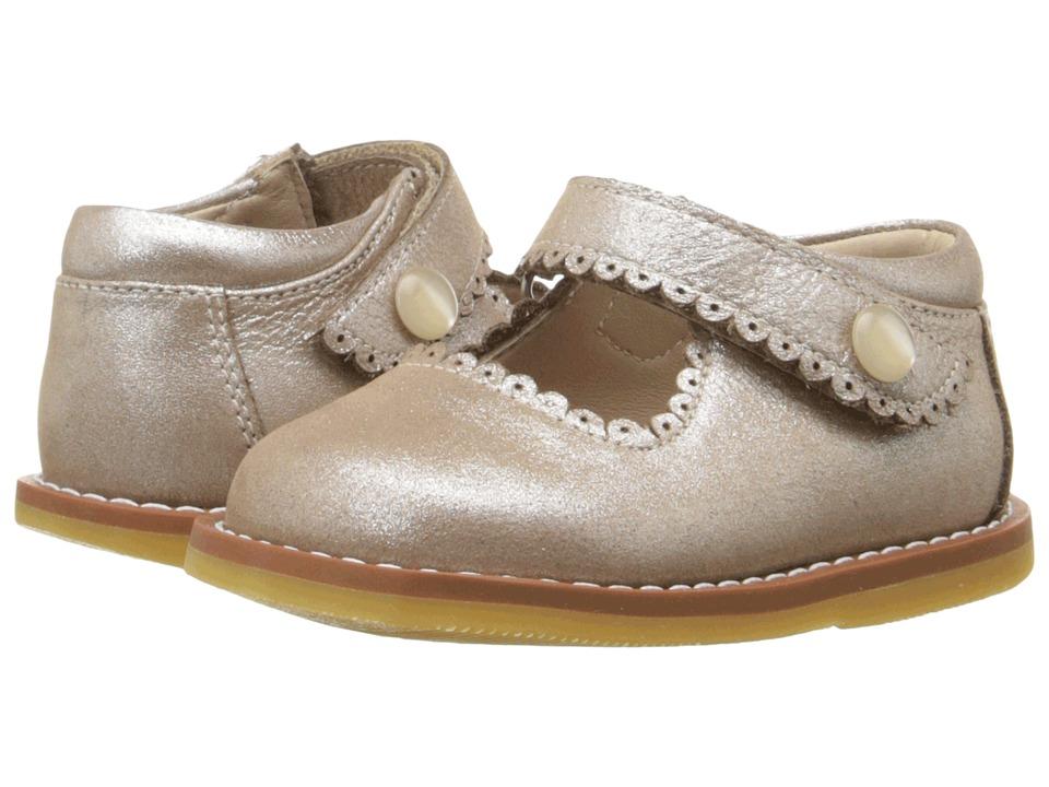 Elephantito Mary Jane (Toddler) (Suede Blush) Girls Shoes