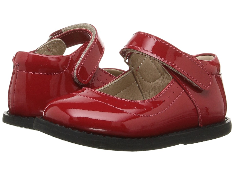 Elephantito Patent Mary Jane (Toddler) (Red) Girls Shoes