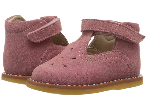 Elephantito Suede T Bar (Toddler) - Pink
