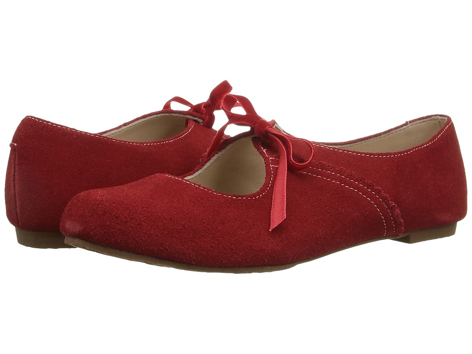 Elephantito Sabrina (Toddler/Little Kid) (Suede Red) Girl