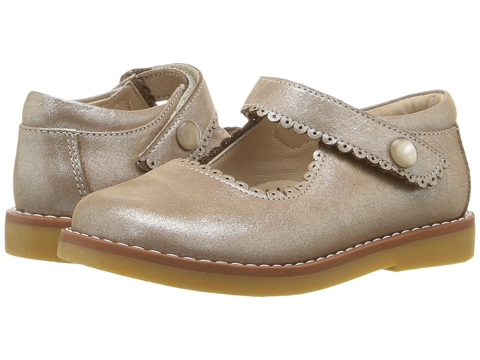 Elephantito Mary Jane ToddlerLittle Kid Suede Blush Girls Shoes