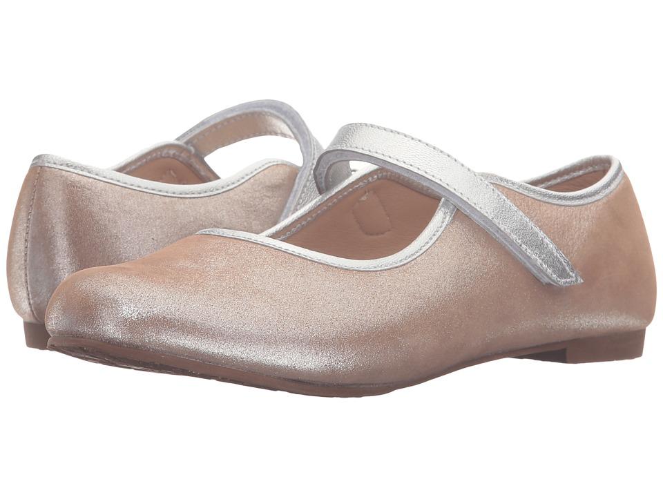 Elephantito Coco MJ (Toddler/Little Kid) (Metalic Blush) Girls Shoes