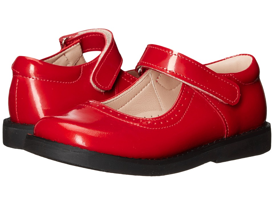 Elephantito Patent Mary Jane (Toddler/Little Kid) (Red) Girls Shoes