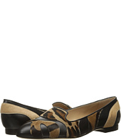 Alberta Ferretti - Calf Leather Mixed Animal Flat, A1566