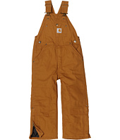 Carhartt Kids - Canvas Bib Overall/Quilt Lined (Little Kids)