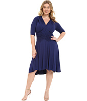 Kiyonna - Refined Ruched Dress