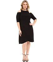 Kiyonna - Racy Faux Wrap Dress