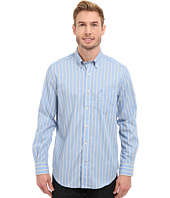 Nautica - Long Sleeve Wrinkle Resistant Stripe with Pocket