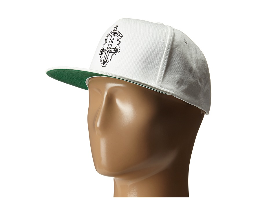 HUF Ashes To Ashes Snapback White Caps