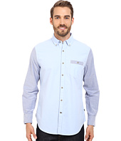 Nautica - Slim Fit Color Blocked Oxford Shirt
