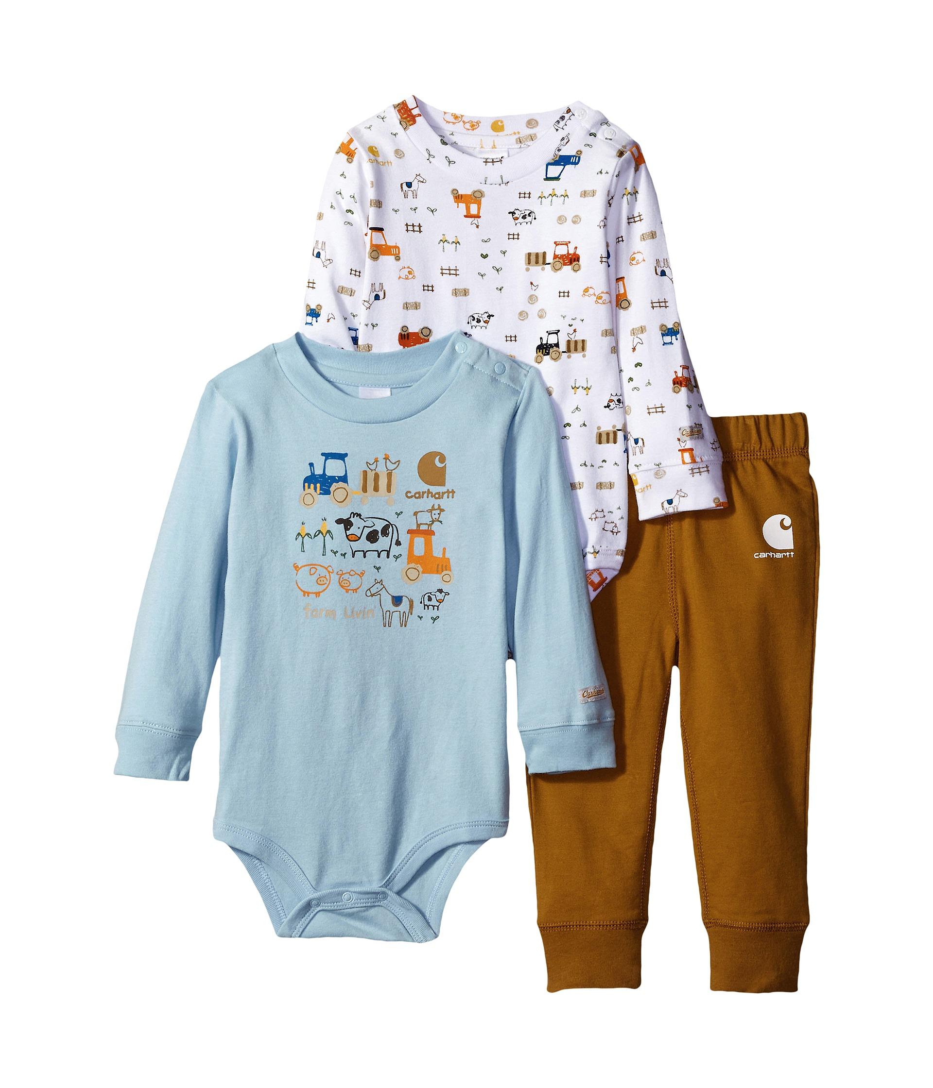 Carhartt Kids Little Farmer Three Piece Gift Set Infant