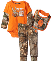 Carhartt Kids - Camo Three-Piece Gift Set (Infant)