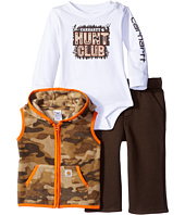 Carhartt Kids - Hunt Club Pant Three-Piece Set (Infant)