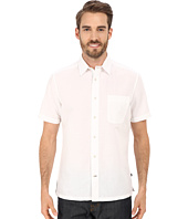 Nautica - Slim Fit Ramie Short Sleeve Shirt