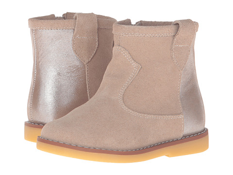 Elephantito Color Block Bootie (Toddler/Little Kid/Big Kid) - Sand