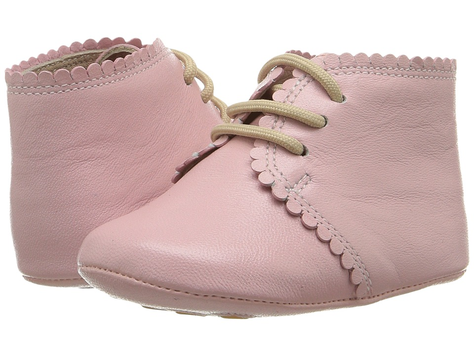 Elephantito - Scalloped Bootie (Infant/Toddler) (Pink) Girls Shoes