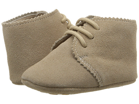Elephantito Scalloped Bootie (Infant/Toddler) - Sand