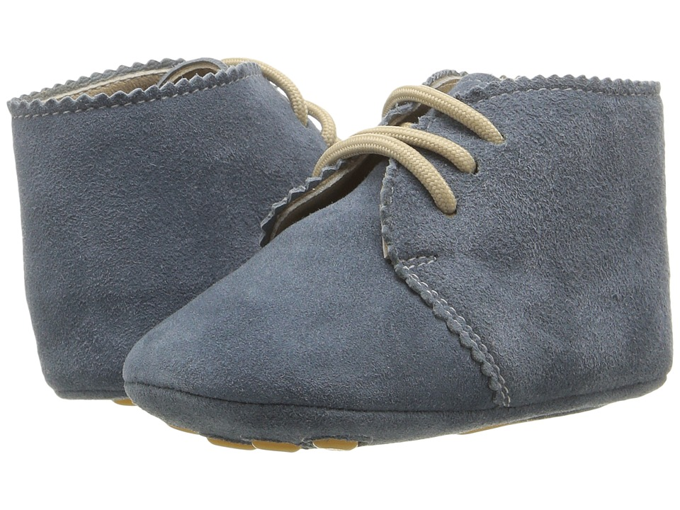 Elephantito Scalloped Bootie (Infant/Toddler) (Blue) Girls Shoes