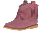 Elephantito Bootie w/ Fringes (Toddler/Little Kid/Big Kid) (Suede Pink)