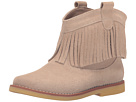 Elephantito Bootie w/ Fringes (Toddler/Little Kid/Big Kid) (Suede Sand)