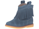 Elephantito Bootie w/ Fringes (Toddler/Little Kid/Big Kid) (Suede Teal)