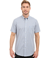 Nautica - Short Sleeve Wrinkle Resistant with Pocket Small Plaid