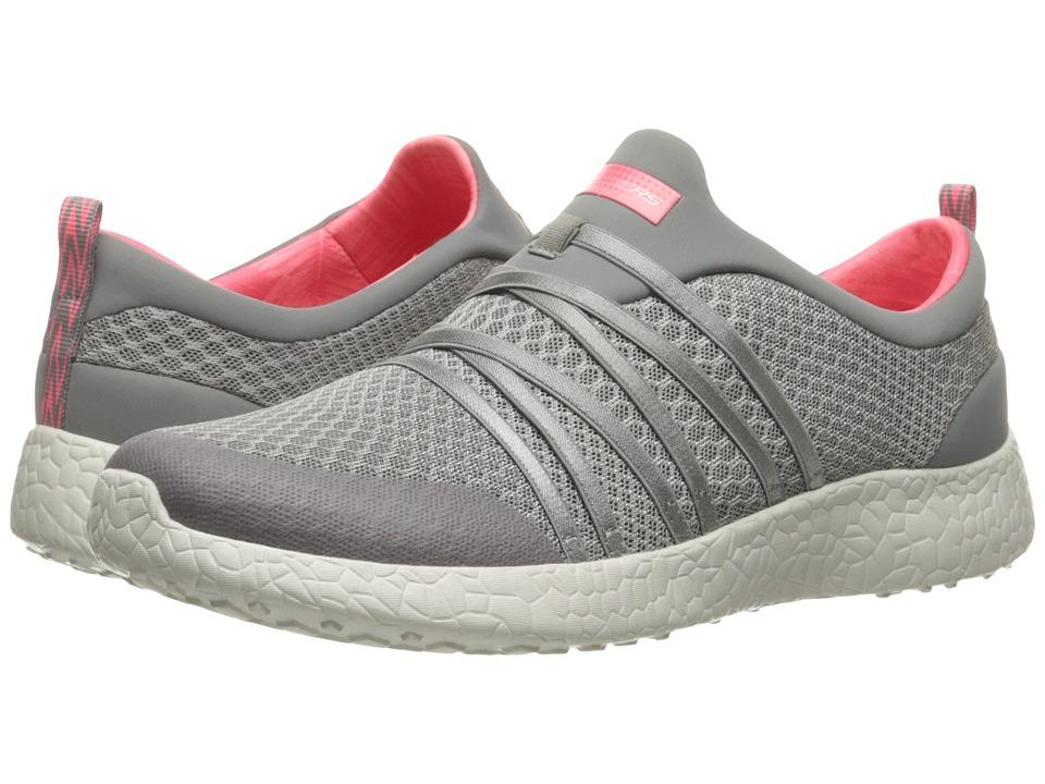 SKECHERS - Burst - Very Daring (Gray) Womens  Shoes