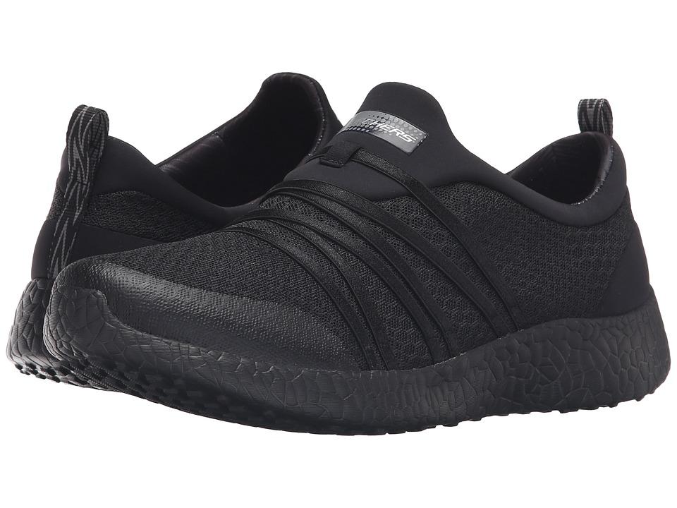 SKECHERS - Burst - Very Daring (Black) Womens  Shoes