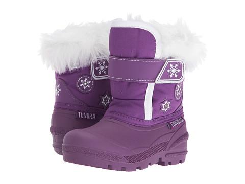 Tundra Boots Kids Midnight (Toddler) - Purple