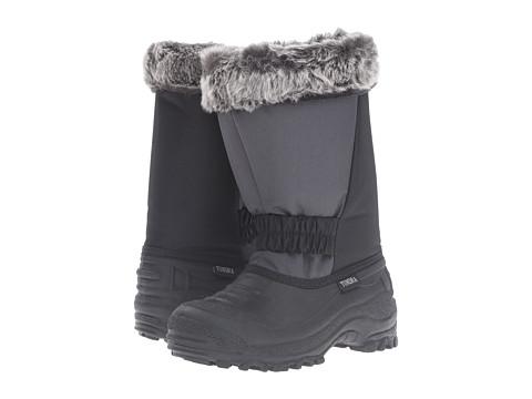 Tundra Boots Kids Glacier Misses (Little Kid/Big Kid) - Black/Charcoal