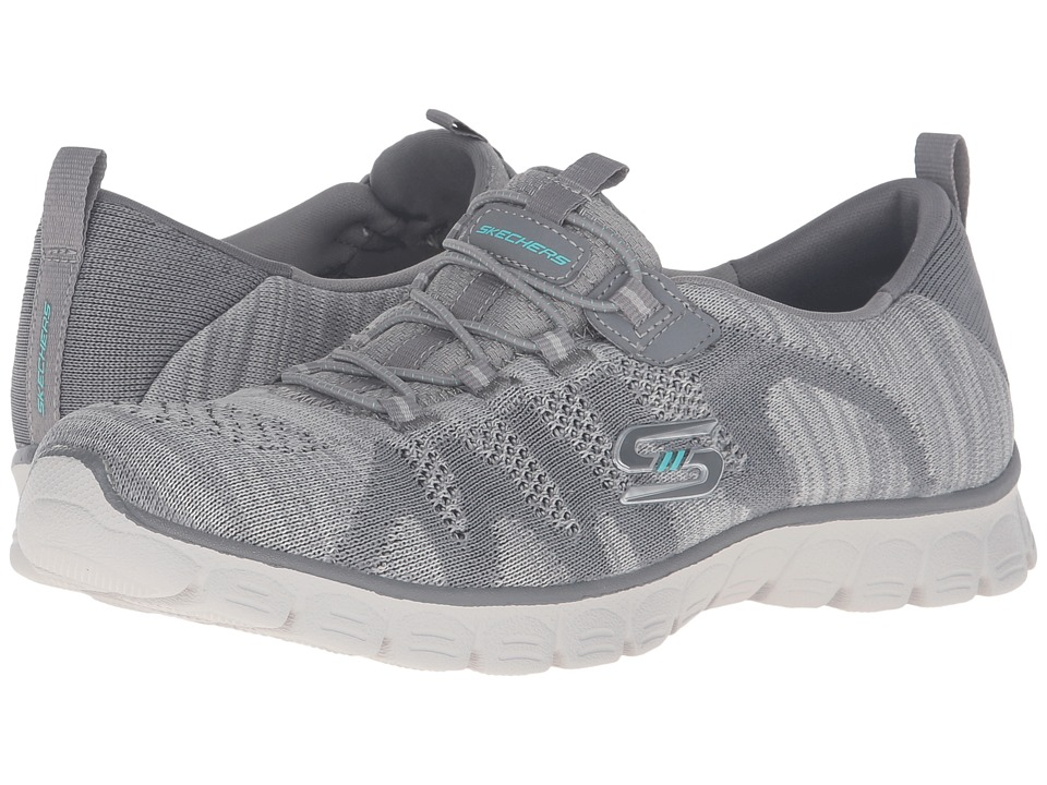 SKECHERS - EZ Flex 3.0 - Take-The-Lead (Gray) Womens  Shoes