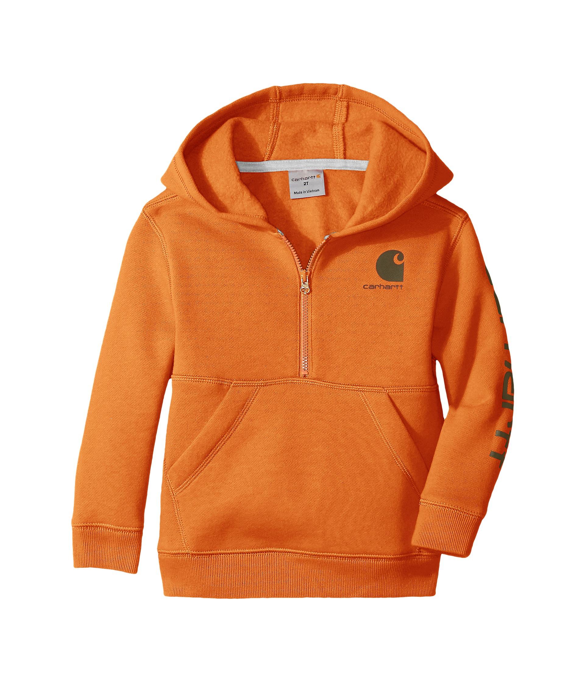 Carhartt Kids Logo Fleece 1 2 Zip Sweatshirt Infant