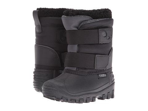Tundra Boots Kids Explorer (Toddler/Little Kid) - Black