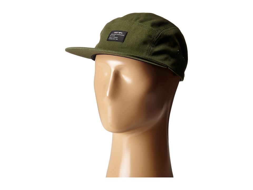 Obey Platoon 5 Panel Cap Olive Caps