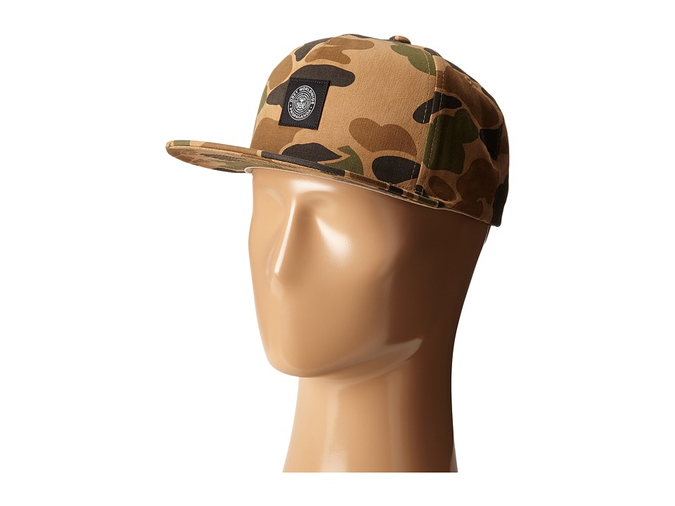Obey Downtown Snapback Hat Bubble Camo Baseball Caps
