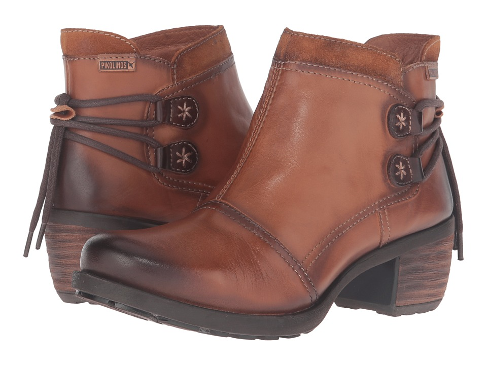 Pikolinos Le Mans 838-8696 (Brandy) Women's Shoes
