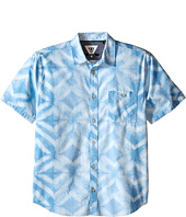 VISSLA Kids - Dye-Mond Lightweight Short Sleeve Printed Woven (Big Kids)