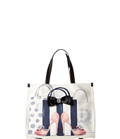 My Flat In London - Head Over Heels Square Tote