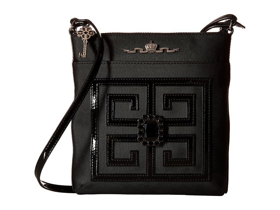 My Flat In London - Chiswick Crossbody (Black/Black) Cross Body Handbags