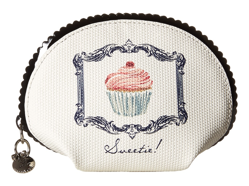 My Flat In London - Sweetie Small Dome Pouch (Natural/Black) Wallet